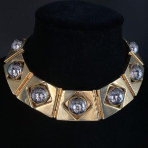 celine vintage necklace 80S