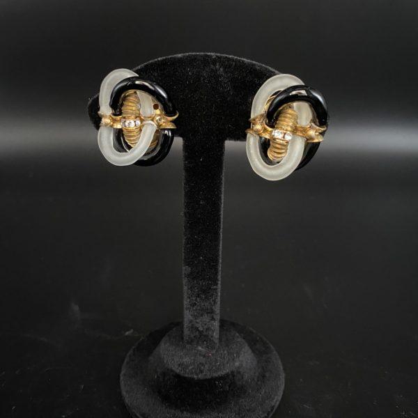 Archimède seguso Chanel earrings clips