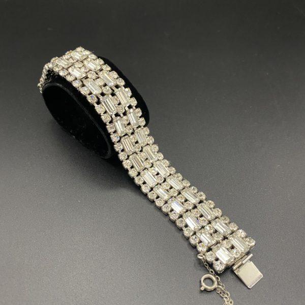 bracelet cristal vintage fifties